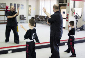 Kung Fu private training